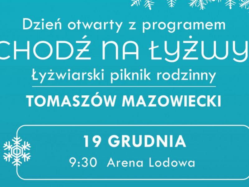 Na zdjeciu baner z informacją o dniu otwartym z programem