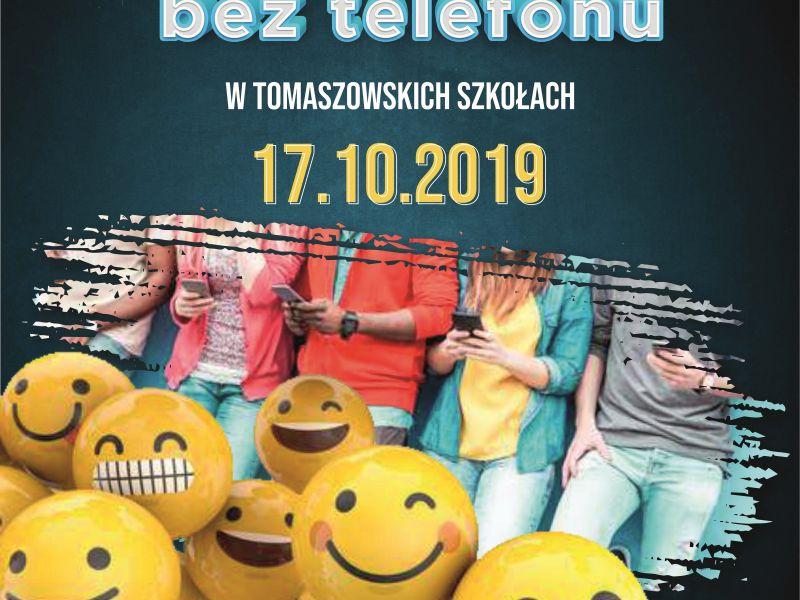 """""""#Dzień bez telefonu w tomaszowskich szkołach"""