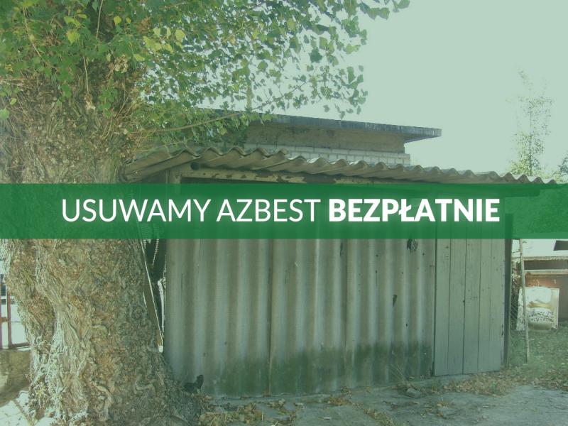 Urząd Miasta pomoże mieszkańcom pozbyć się azbestu
