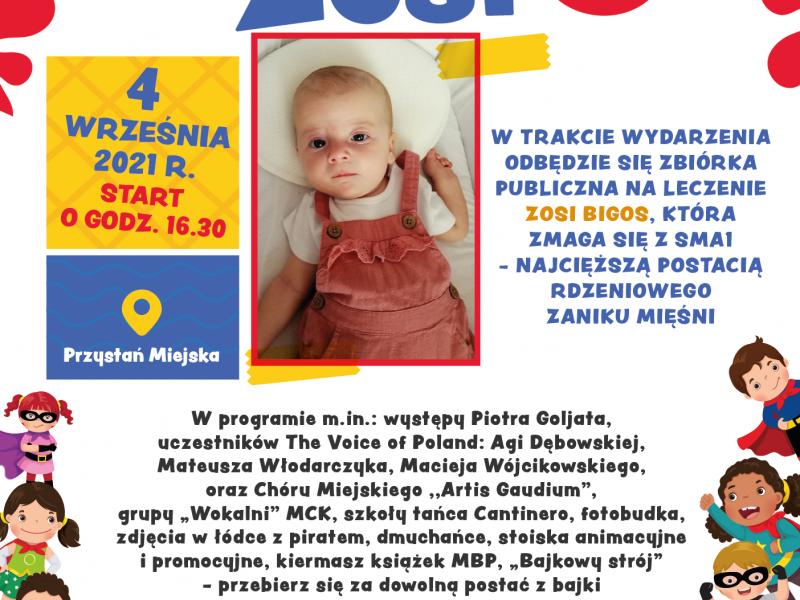 Na zdjęciu plakat pikniku rodzinnego