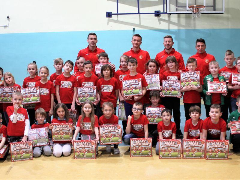 Piłkarze Widzewa odwiedzili tomaszowską