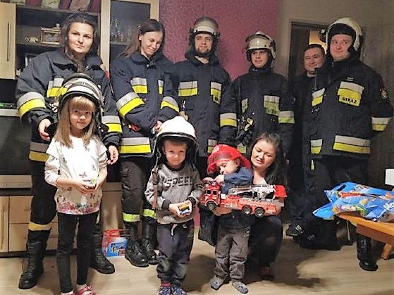 Strażacy z Ludwikowa u Olusia