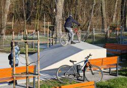 w sąsiedztwie parku Bulwary powstła skatepark