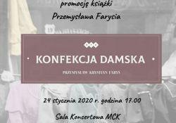 Spotkanie w MBP - promocja książki o historii damskiej konfekcji