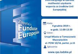 Jak uzyskać wsparcie ze środków Unii Europejskiej? - spytaj eksperta