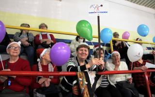 Sportowe mikołajki seniorów