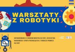 Na zdjęciu baner warsztatów MBP pt.