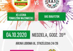 Lechia zagra z BAS Białystok.Transmisja w Polsat Sport